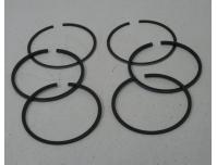 Image of Piston ring set for Two pistons, 1.00mm oversize