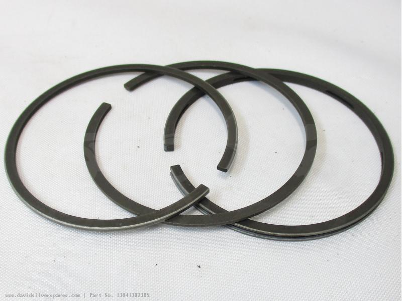 honda ct110 trail 110 1986 usa piston ring set  0 75mm