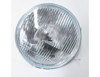Image of Head light glass and reflector unit (UK models)