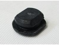 Image of Brake pad hanger pin rubber end plug, for Rear caliper