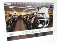 Image of  The David Silver Honda collection Calendar 2019